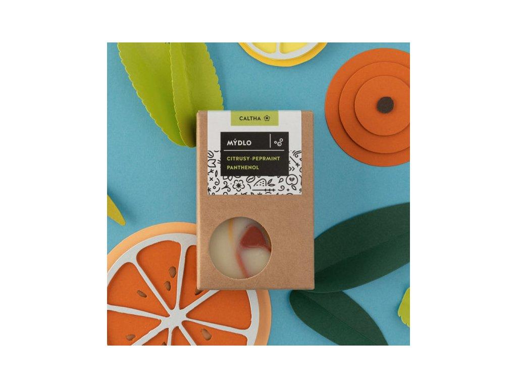 caltha mydlo citrusy peprmint panthenol 600x600