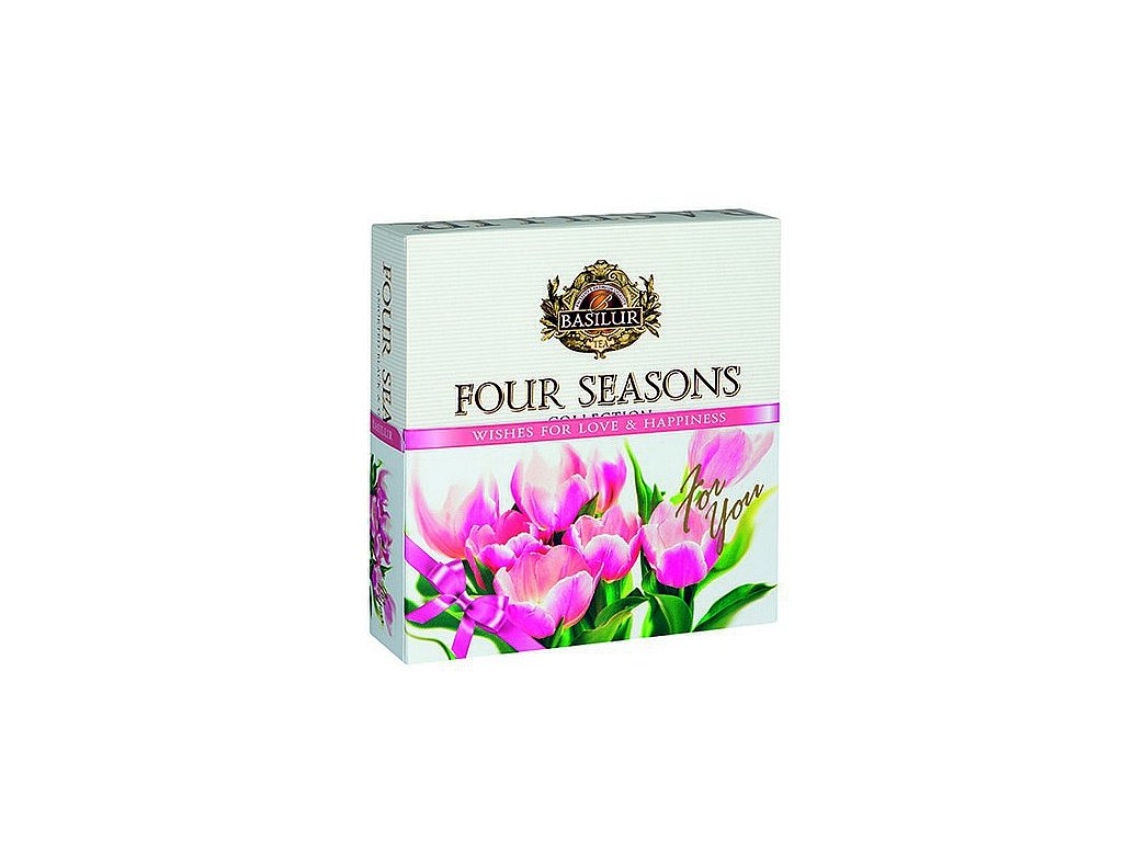 BASILUR Four Seasons For You Pink Assorted přebal