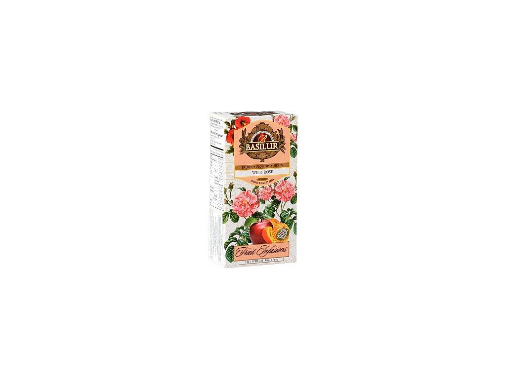 BASILUR Fruit Wild Rose nepřebal 25x2g