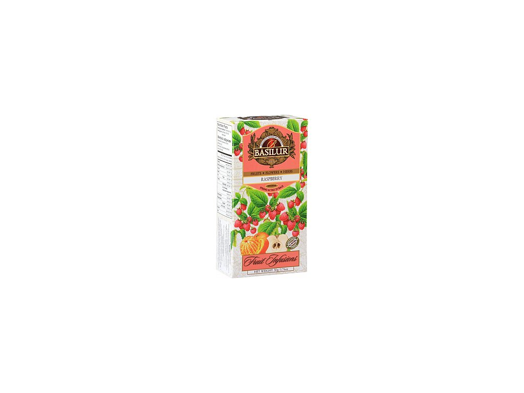 BASILUR Fruit Raspberry nepřebal 25x2g