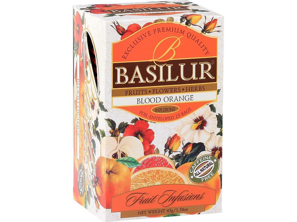 BASILUR Fruit Blood Orange nepřebal 25x2g