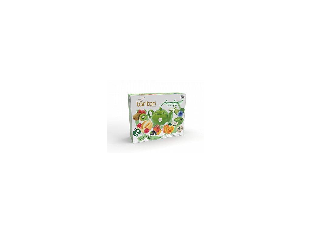 TARLTON kolekce zelených čajů II. 60x2g