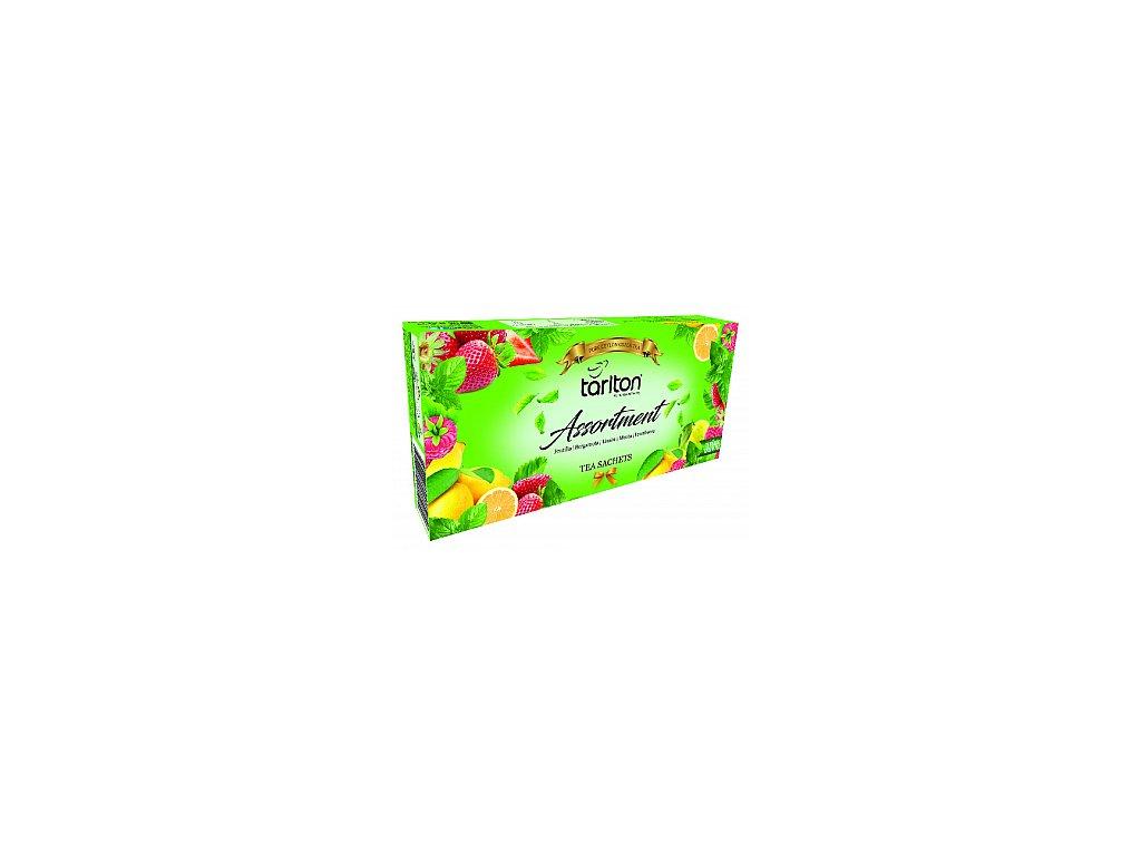 TARLTON kolekce zelených čajů 5 příchutí 100x2g
