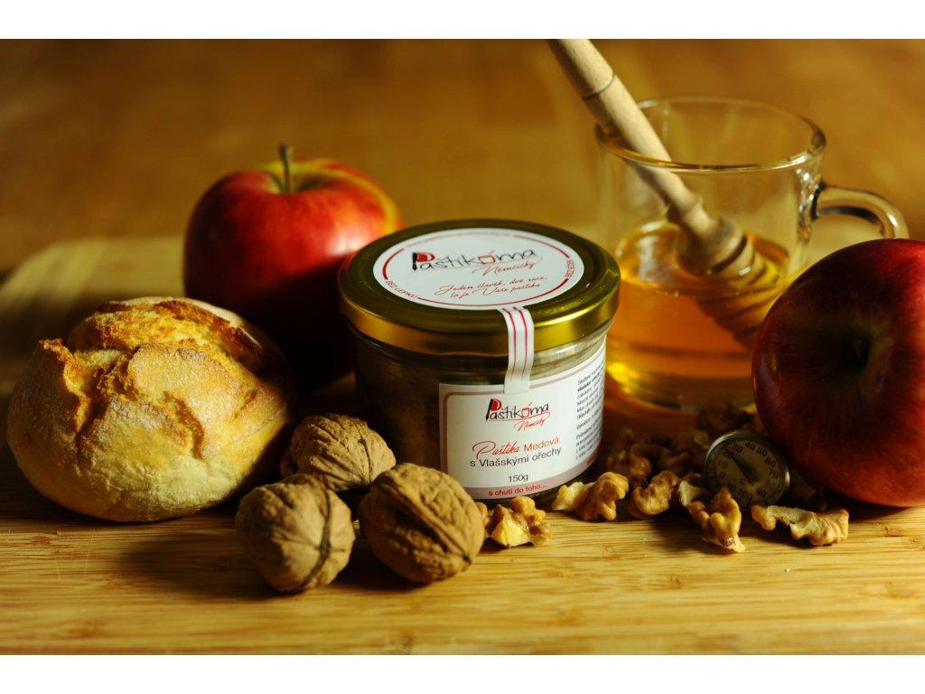 Paštikárna Němčičky Medová s Vlašskými ořechy