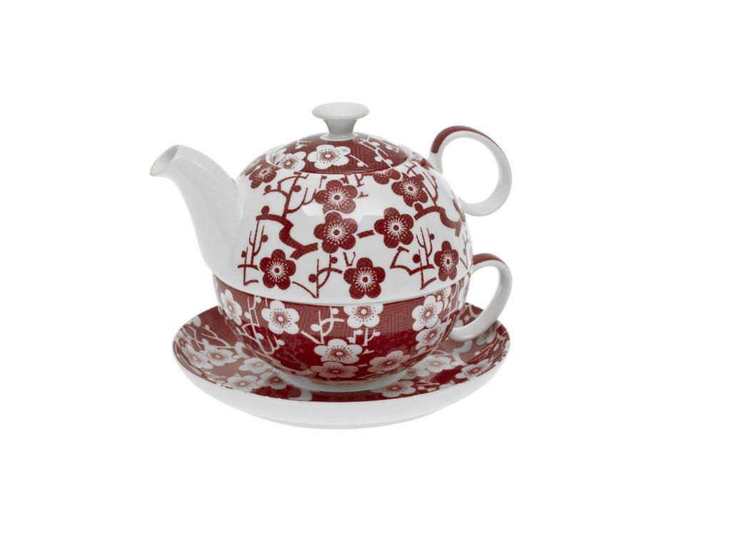 Tea for one červená