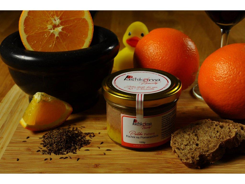 Paštikárna Němčičky Pečená Kachní na Pomerančích