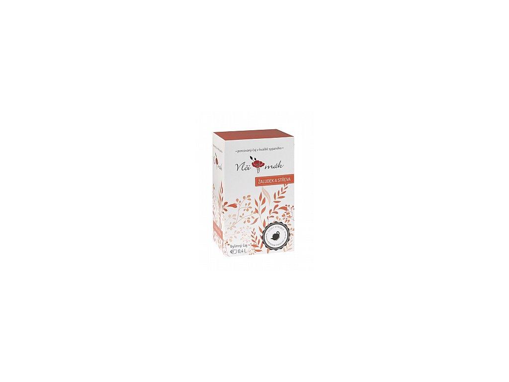 Bylinné čaje Vlčkovi Žaludek a střeva 20x2g