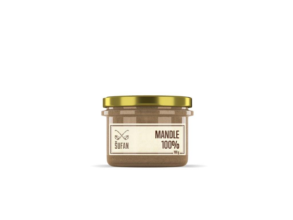 Šufánek s.r.o. Mandlové máslo 190g
