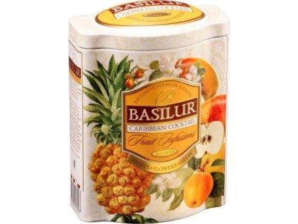 BASILUR Fruit Caribbean Coctail plech 100g