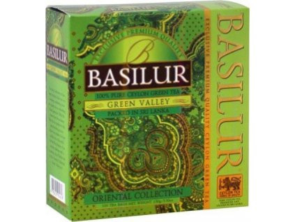BASILUR Orient Green Valley nepřebal 100x1,5g