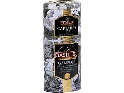 BASILUR 2v1 Captains Gampola plech 50g & 75g