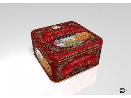 La Mére Coffret Chocolate chip butter biscuits plech 250g