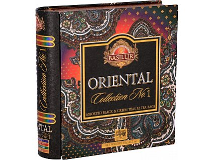 Book Assorted Orient plech 32 gastro sáčků