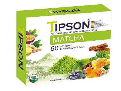 TIPSON BIO Matcha Kazeta Variace přebal 60x1,5g