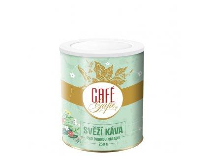 1616415397Café Gape Svěží káva 250g plech 800