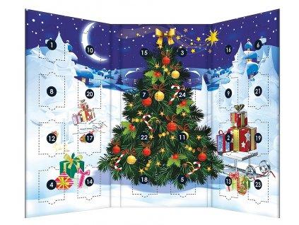 BASILUR Christmas Tea Kalendář 24 druhů čajů