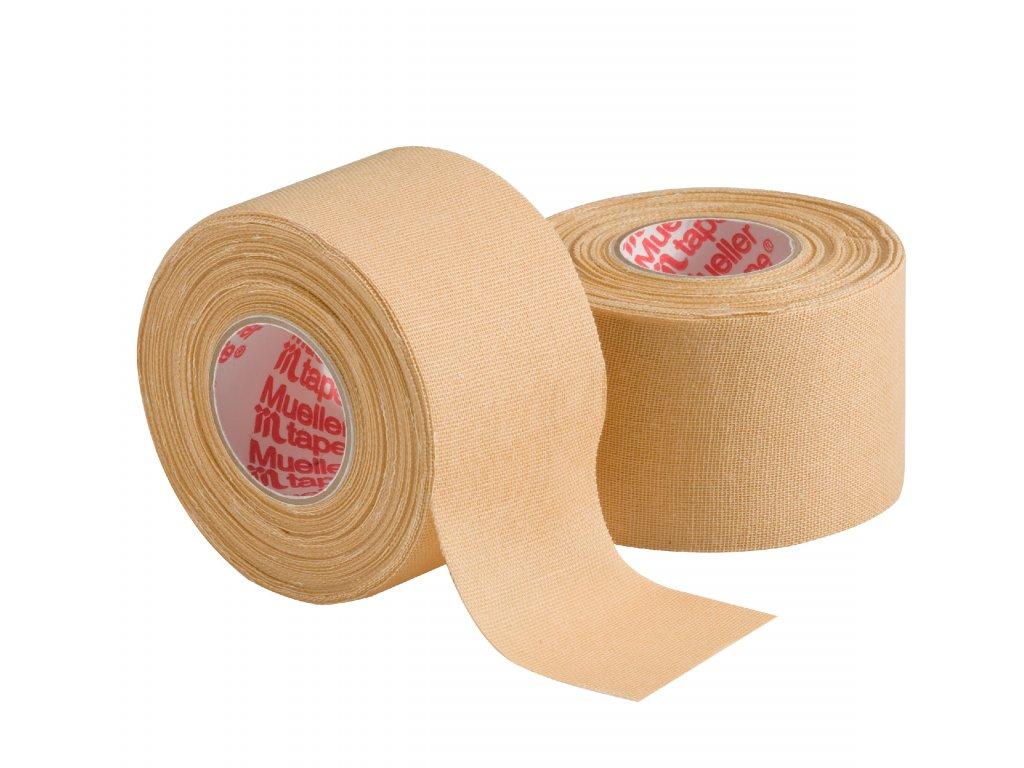 Mueller MTape® Team Colors, fixačná tejpovacia páska 3,8cm, béžová