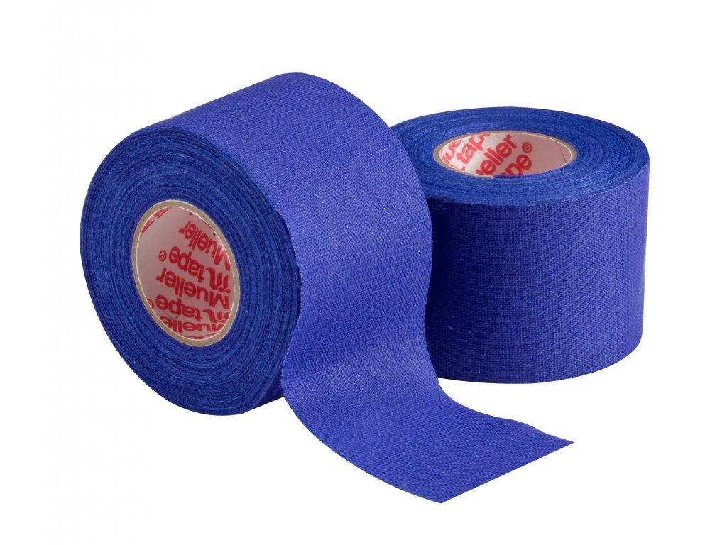 Mueller MTape® Team Colors, fixačná tejpovacia páska 3,8cm, modrá