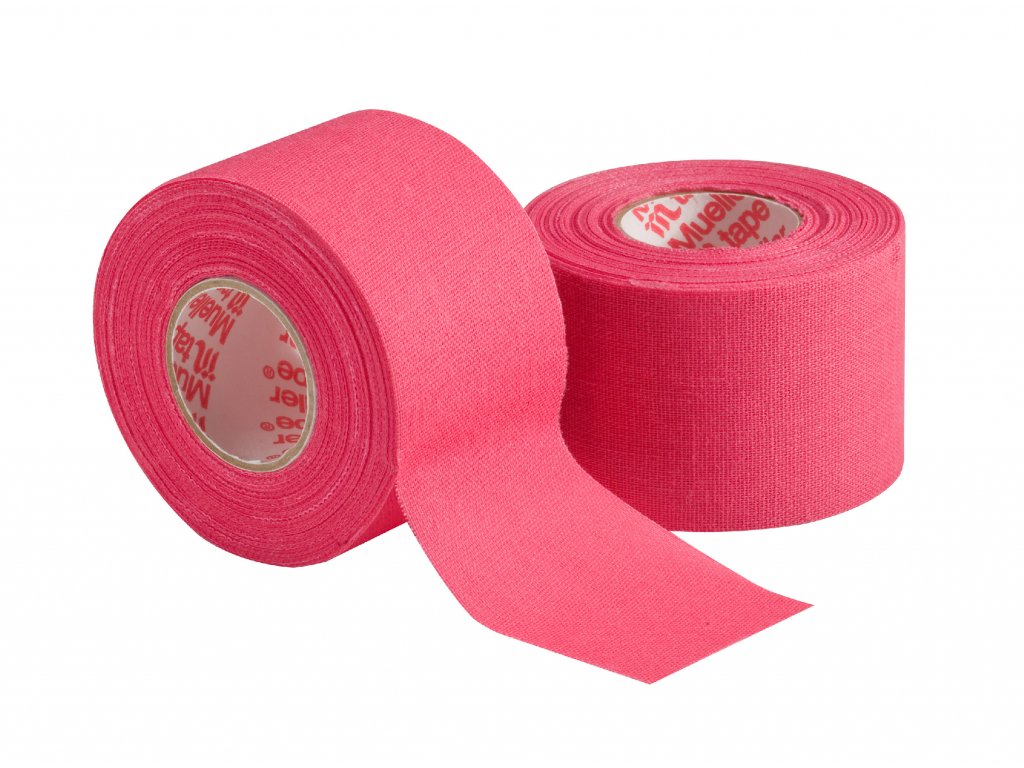 Mueller MTape® Team Colors, fixačná tejpovacia páska 3,8cm, ružová