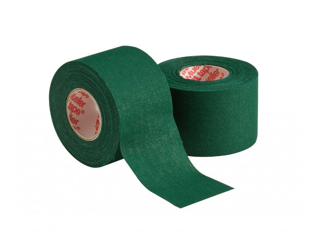 Mueller MTape® Team Colors, fixačná tejpovacia páska 3,8cm, zelená