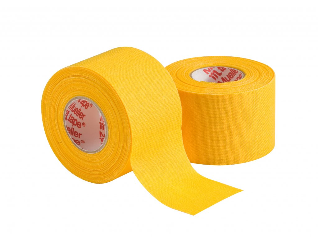 Mueller MTape® Team Colors, fixačná tejpovacia páska 3,8cm, žltá