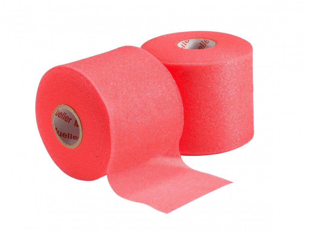 Mueller MWrap® Colored, podtejpovacia molitanová páska červená 7cm x 27,4m