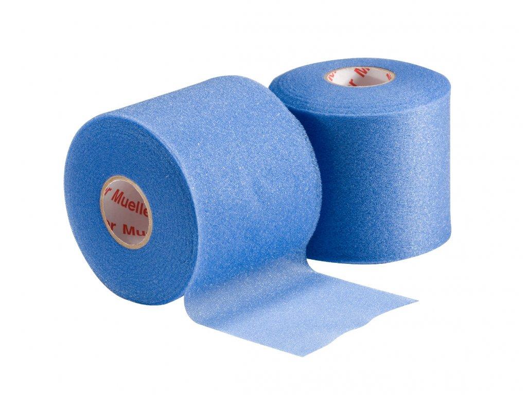 Mueller MWrap® Colored, podtejpovacia molitanová páska modrá 7cm X 27,4m