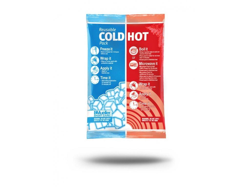 Mueller Reusable Cold/Hot Pack, chladivý/hrejivý sáčok, 15 x 22 cm