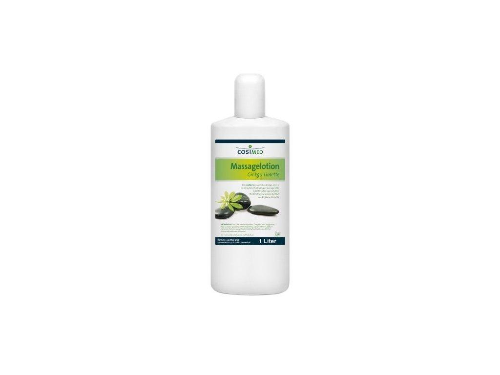 cosiMed masážna emulzia Ginkgo - Limetka - 1000 ml