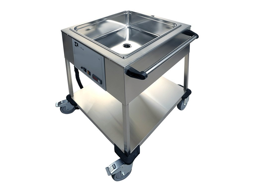 Parafínová kúpeľ PL 55 s výpustným ventilom pre parafín