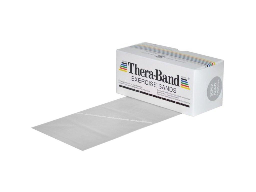 Thera-Band posilňovacia guma 5,5 m, strieborná, super silná