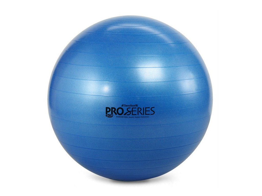 Thera-Band Pro Series Gymnastický míč 75 cm, modrý