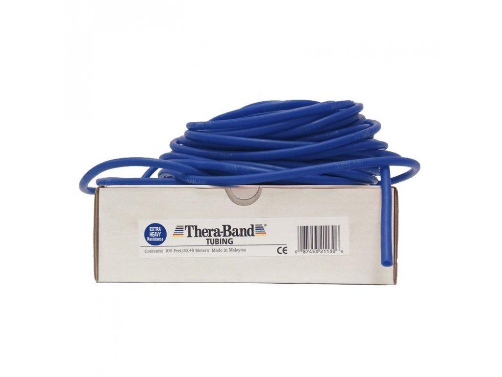 Thera-Band Tubing 30,5 m, modrá, extra silná