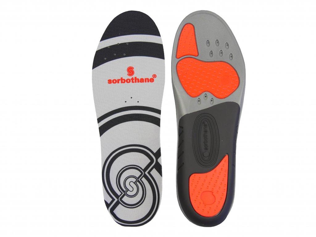 Sorbothane Sorbo Pro, gélové vložky do topánok