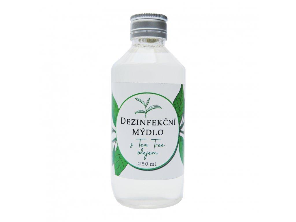 Dezinfekčné tekuté mydlo s Tea Tree olejom - 250 ml