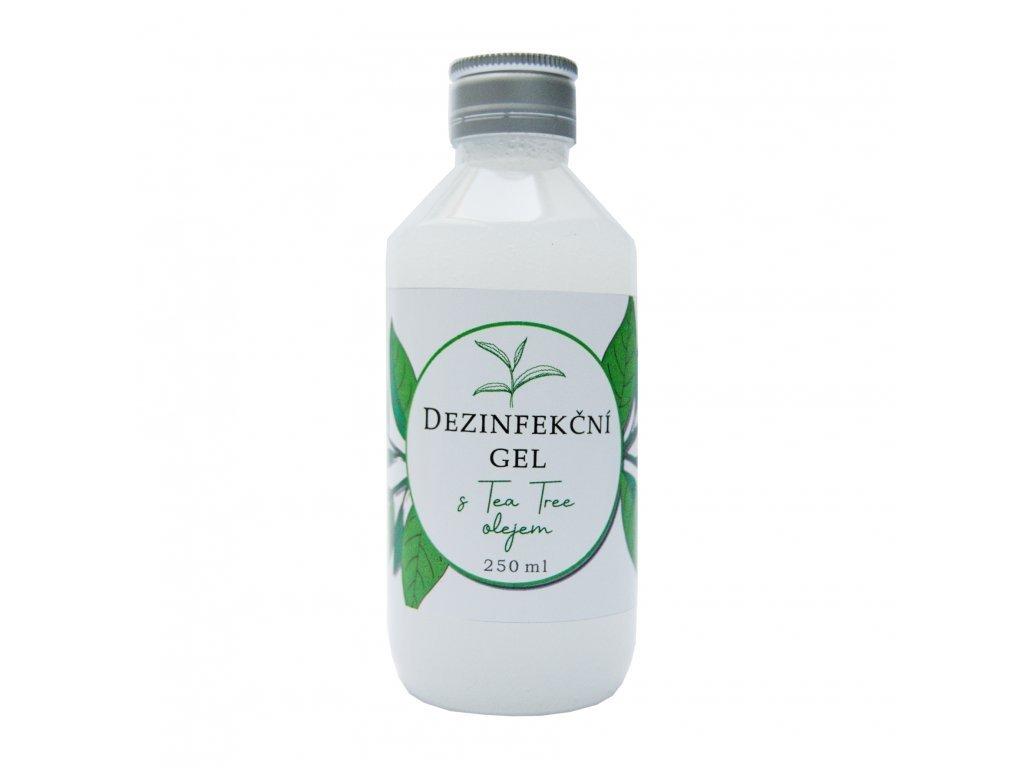 Dezinfekčný gél na ruky s Tea Tree olejom