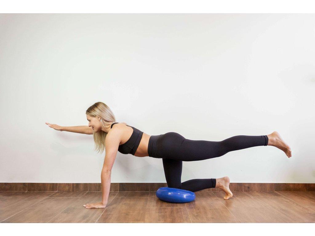 Rehabiq Balančná šošovka, 33 cm, modrá