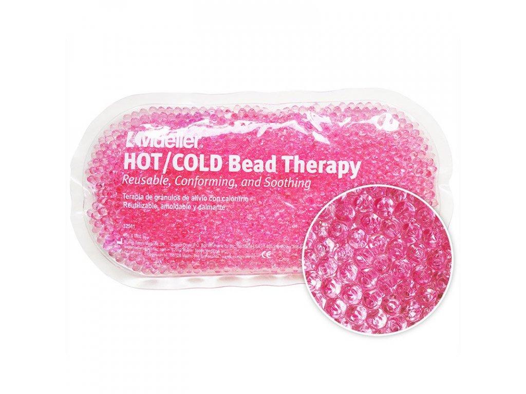 Mueller Hot / Cold Bead - Chladivý / hrejivý sáčok s gélovými perličkami - ružový