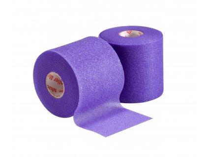 Mueller MWrap® Colored, podtejpovací molitanová páska fialová 7 cm x 27,4 m