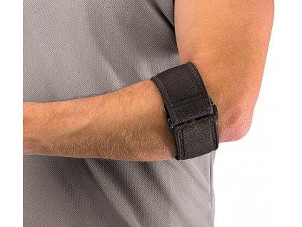 Mueller Tennis Elbow Support w/Gel Pad, páska na tenisový lakeť s gélovým vankúšikom