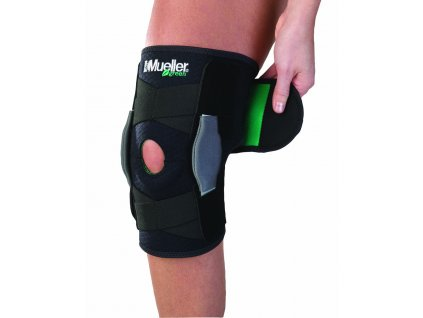 Mueller Green, Adjustable Hinged Knee Brace, ortéza na koleno, uni
