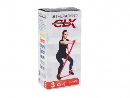 Thera-Band CLX - červený, stredne silný