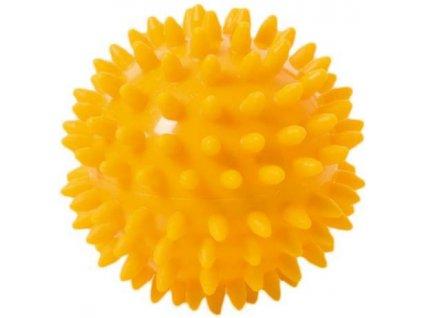 Thera-Band masážna loptička ježko, 8 cm, žltý