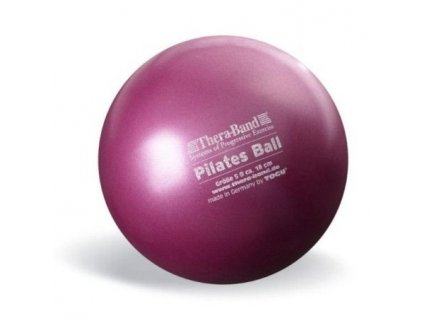 Thera-Band Overball / Pilates Ball 18 cm, červená