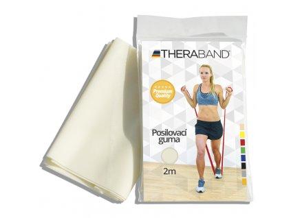Thera-Band posilňovacia guma 2 m, béžová, veľmi slabá