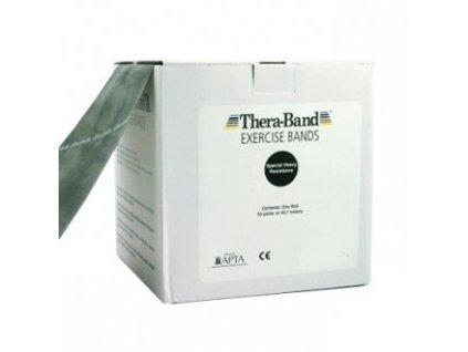 Thera-Band posilňovacia guma 45,5 m, čierna, špeciálne silná