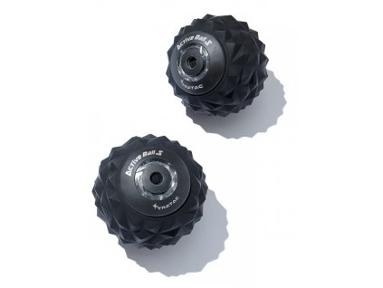 Tratac Active Ball S, masážna vibračná loptička, čierna