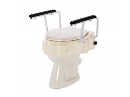 Nadstavec na WC s držadlami, 580