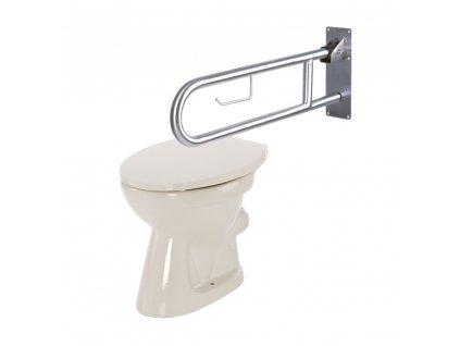 Madlo k WC sklopné nerez, 506 N