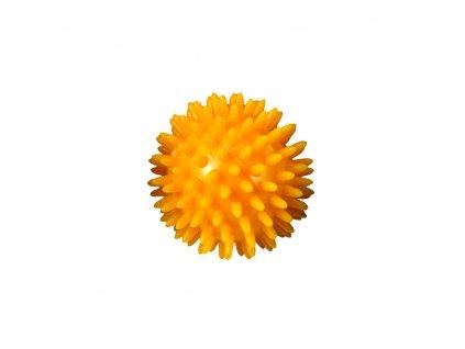 Masážna loptička ježko, Yellow 5,5